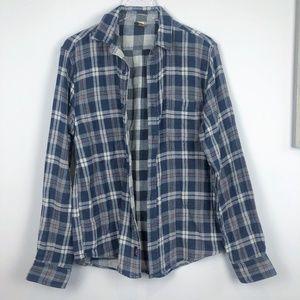 Men's Faherty The Reversible Flannel Shirt M